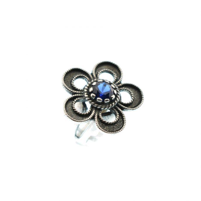 Δαχτυλίδι με Μπλε Ζιργκόν