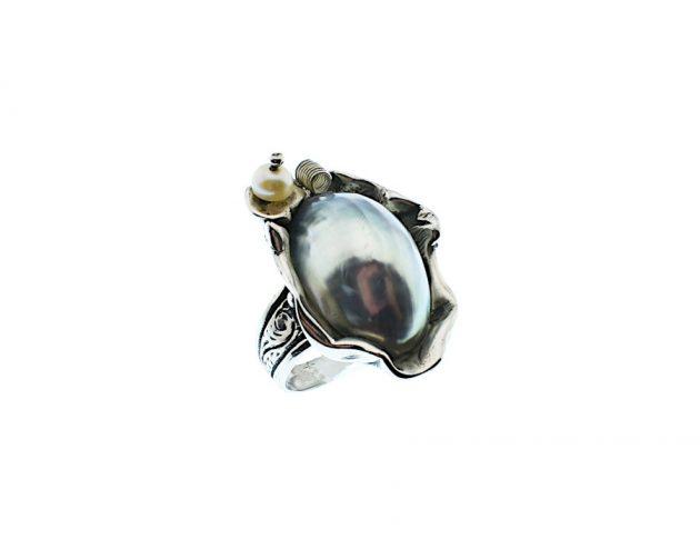 Χειροποίητο Δαχτυλίδι με Ναυτίλο